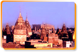 Temples Skyline of Jammu City